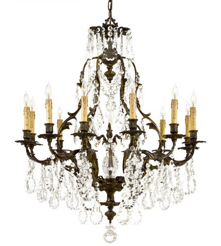 Metropolitan N950201 12 Light Chandelier