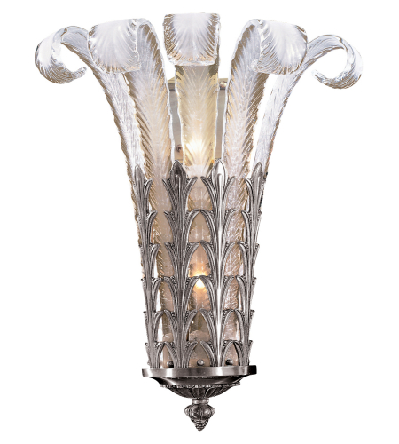 Metropolitan N950386-54B Signature 2 Light Sconce in Brass