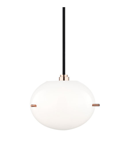Mitzi by Hudson Valley Lighting H102701-POC Winnie 1 Light Pendant in Polished Copper