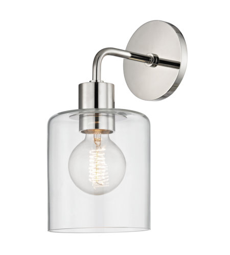 Mitzi® By Hudson Valley H108101-Pn Neko 1 Light Wall Sconce In Polished Nickel