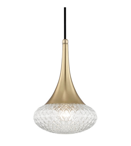 Mitzi® By Hudson Valley H114701c-Agb Bella 1 Light