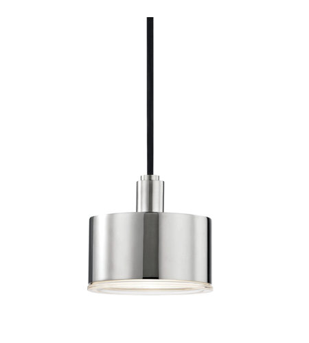 Mitzi® By Hudson Valley H159701-Pn 1 Light Pendant In Polished Nickel