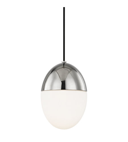 Mitzi by Hudson Valley Lighting H206701S-PN Orion 1 Light Pendant in Polished Nickel