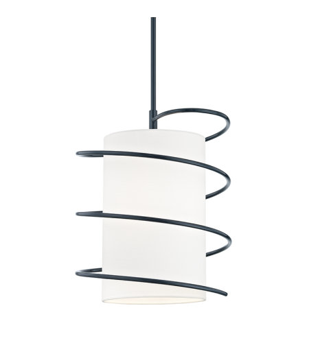 Mitzi By Hudson Valley H237701L-NVY Carly 1 Light Pendant in Navy