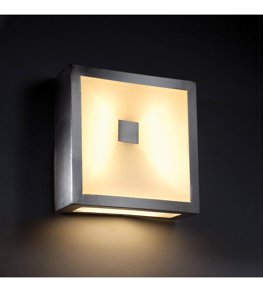 Modern Forms WS-W1308-AL Vue LED Outdoor Wall Light in Brushed ...