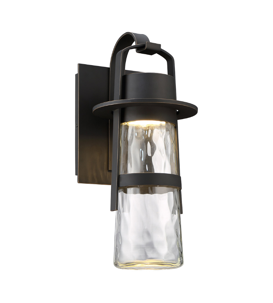 Modern Forms Ws W28516 Orb Balthus Led Outdoor Sconce In