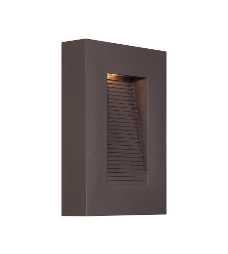 Modern Forms WS-W1110-BZ Urban 10in LED Outdoor Wall Light 3000K in Bronze