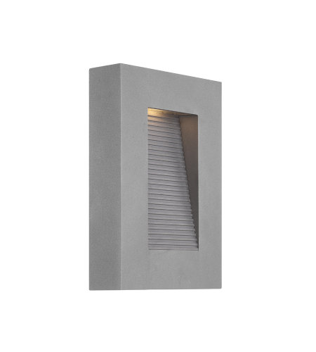 Modern Forms WS-W1110-GH Urban 10in LED Outdoor Wall Light 3000K in Graphite