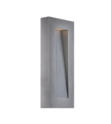 Modern Forms WS-W1116-GH Urban 16in LED Outdoor Wall Light 3000K in Graphite