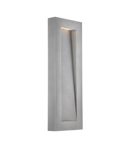 Modern Forms WS-W1122-GH Urban 22in LED Outdoor Wall Light 3000K in Graphite
