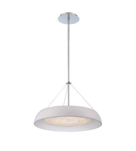 Modern Forms PD-51418-WT Soleil LED Chandelier 3000K in White