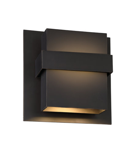 Modern Forms WS-W30511-ORB Pandora 11in LED Outdoor Wall Light 3000K in Oil Rubbed Bronze