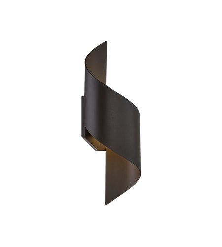Modern Forms WS-W34517-BZ Helix 17in LED Outdoor Wall Light 3000K in Bronze