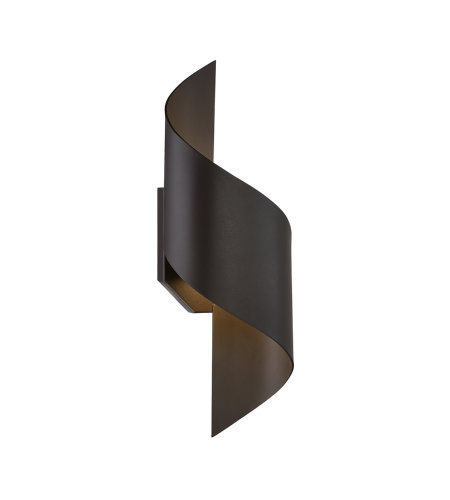 Modern Forms WS-W34524-BZ Helix 24in LED Outdoor Wall Light 3000K in Bronze