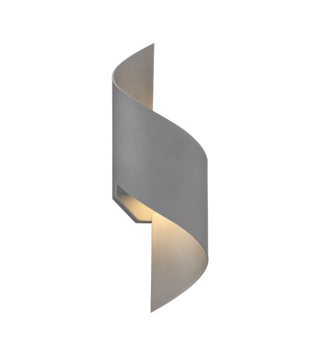 Modern Forms WS-W34524-GH Helix 24in LED Outdoor Wall Light 3000K in Graphite