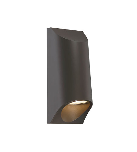 Modern Forms WS-W70612-BZ Mega LED Outdoor Wall Light 3000K in Bronze