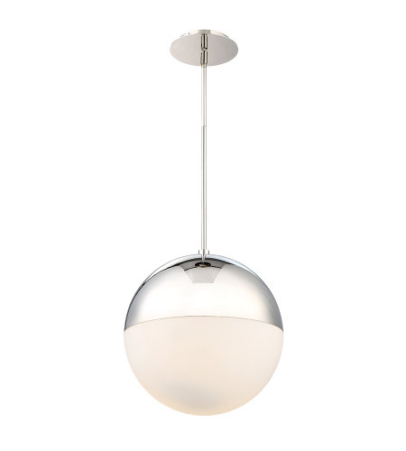 Modern Forms PD-24614-PN Punk 14in LED Pedant 3000K in Polished Nickel