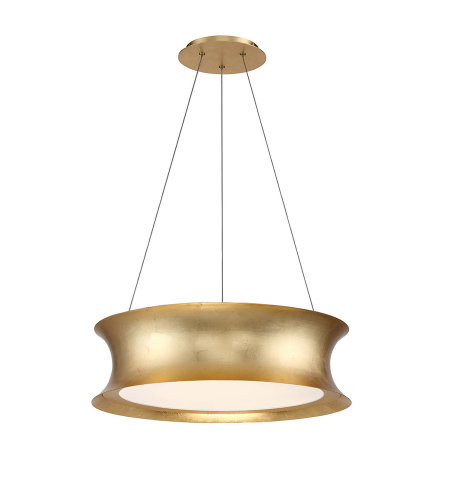 Modern Forms PD-34620-GL Tango LED Chandelier 3000K in Gold Leaf