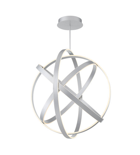 Modern Forms PD-61738-TT Kinetic 38in LED Chandelier 3500K in Titanium