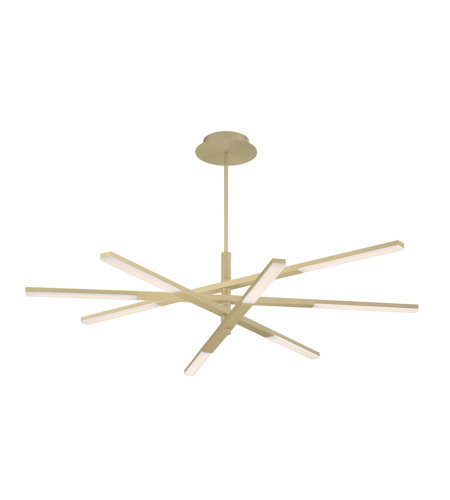 Modern Forms PD-50748-BR Stacked LED Pendant 3000K in Brushed Brass