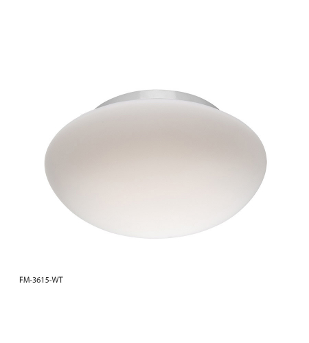 Modern Forms FM-3615-WT Loft LED Flush Mount in White