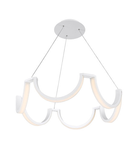 Modern Forms PD-20837-WT Marin 37in LED Chandelier 3000K in White