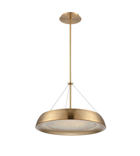 Modern Forms PD-51418-LB Soleil LED Pendant in Light Bronze