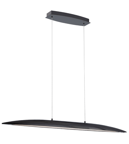 Modern Forms PD-51645-EB Davos LED Island Light in Ebony
