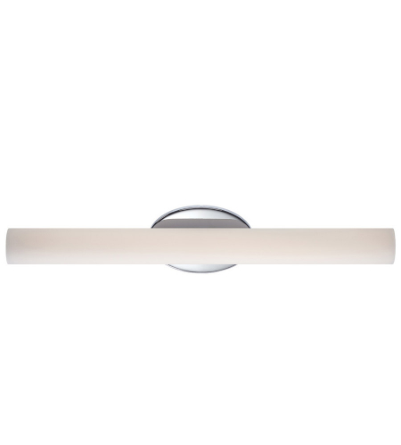 Modern Forms WS-3624-CH Loft LED Bath Bracket in Chrome
