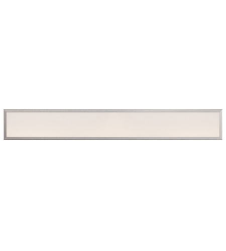 Modern Forms WS-3736-AL Neo LED Bath Bracket in Brushed Aluminum