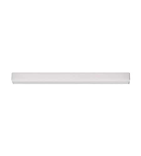 Modern Forms WS-47919-AL Lightstick 19in LED Bathroom Vanity & Wall Light 3000K in Brushed Aluminum