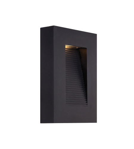 Modern Forms WS-W1110-BK Urban LED Outdoor Wall Light in Black