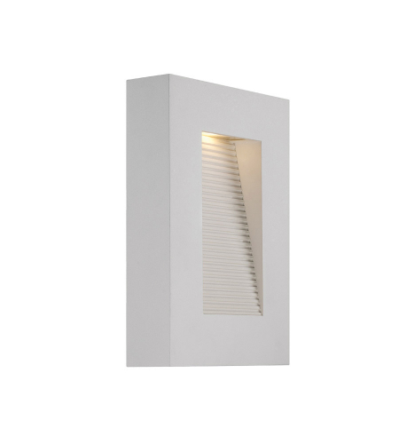Modern Forms WS-W1110-WT Urban LED Outdoor Wall Light in White