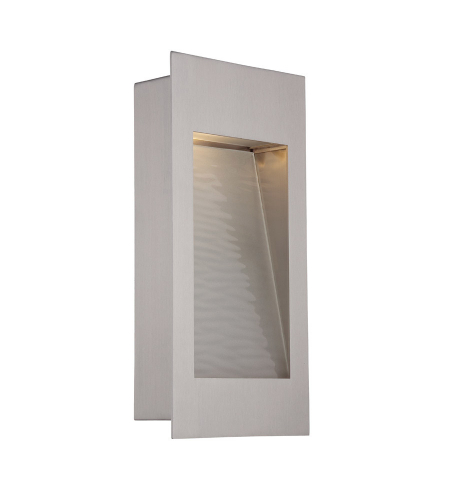 Modern Forms WS-W1212-SS Spa LED Outdoor Wall Light in Stainless Steel