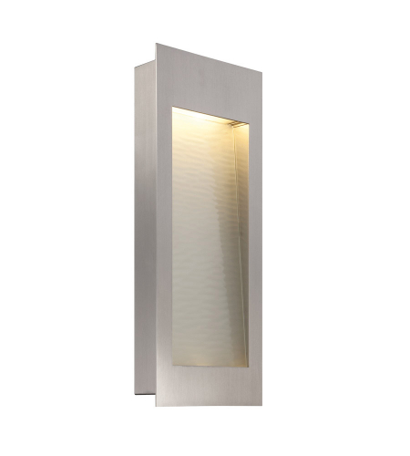 Modern Forms WS-W1218-SS Spa LED Outdoor Wall Light in Stainless Steel