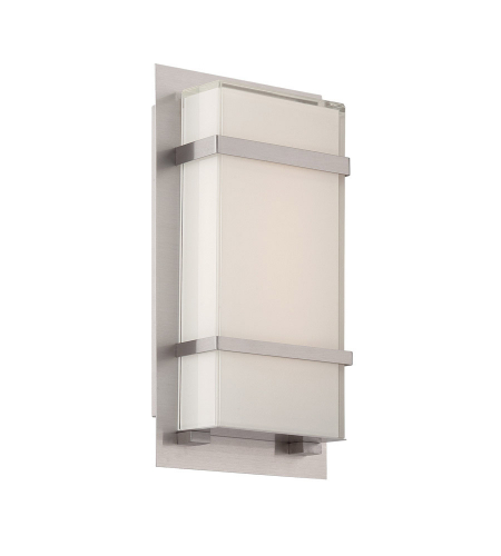 Modern Forms WS-W1611-SS Phantom LED Outdoor Wall Light in Stainless Steel