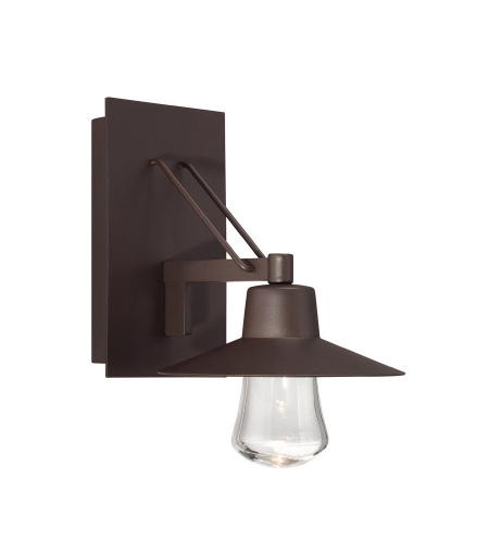 Modern Forms WS-W1911-BZ Suspense LED Outdoor Wall Light in Bronze