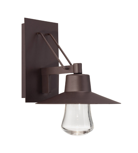 Modern Forms WS-W1915-BZ Suspense LED Outdoor Wall Light in Bronze
