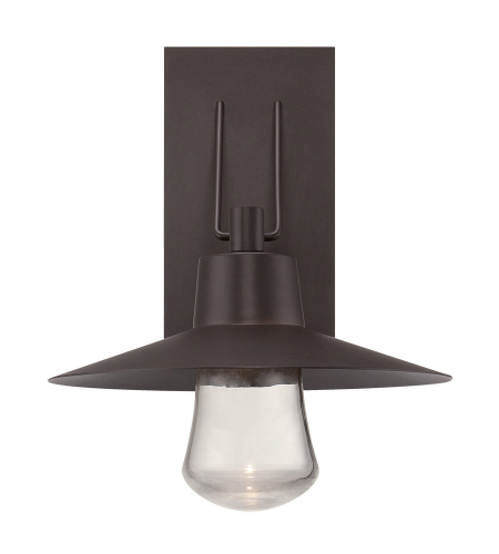 Modern Forms WS-W1917-BZ Suspense LED Outdoor Wall Light in Bronze
