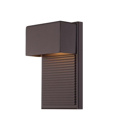 Modern Forms WS-W2308-BZ Hiline LED Outdoor Wall Light in Bronze