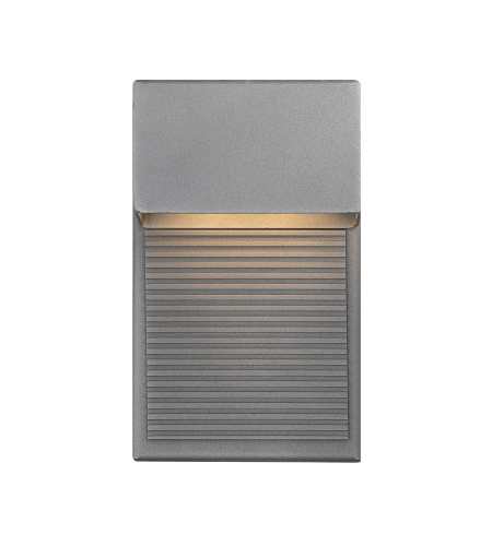 Modern Forms WS-W2308-GH Hiline LED Outdoor Wall Light in Graphite