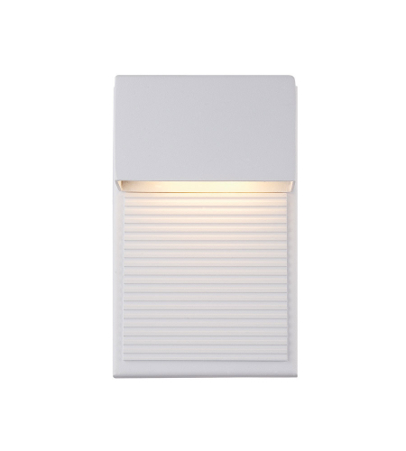 Modern Forms WS-W2308-WT Hiline LED Outdoor Wall Light in White