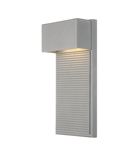 Modern Forms WS-W2312-GH Hiline LED Outdoor Wall Light in Graphite