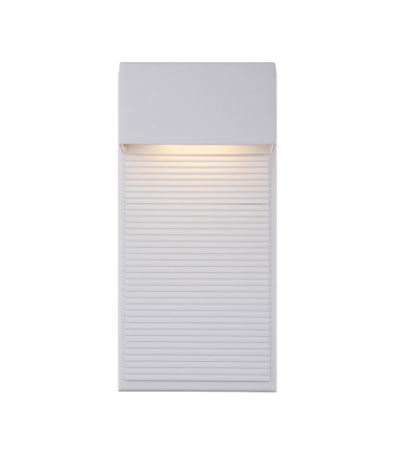Modern Forms WS-W2312-WT Hiline LED Outdoor Wall Light in White