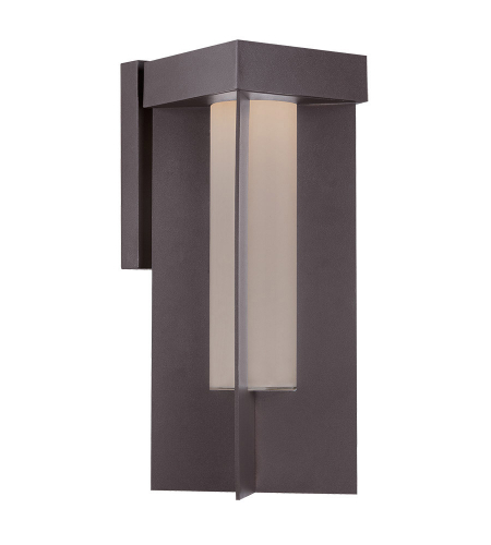 Modern Forms WS-W5019-BZ Castleton LED Outdoor Wall Light in Bronze