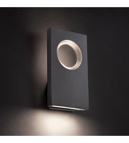 Modern Forms WS-W5116-GH Void LED Outdoor Wall Light in Graphite