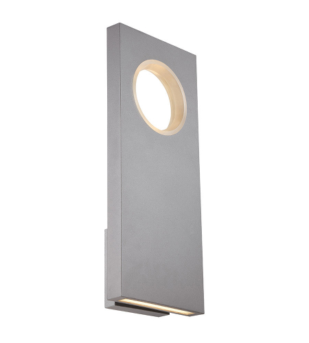 Modern Forms WS-W5122-GH Void LED Outdoor Wall Light in Graphite
