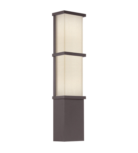 Modern Forms WS-W5222-BZ Elevation LED Outdoor Wall Light in Bronze