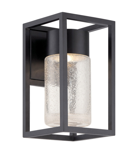 Modern Forms WS-W5411-BK Structure LED Outdoor Wall Light in Black