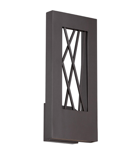 Modern Forms WS-W5516-BZ Twilight LED Outdoor Wall Light in Bronze